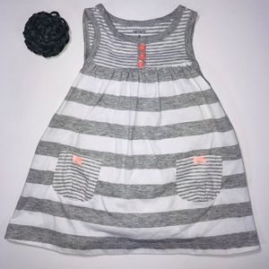Adorable baby dress with built in bottom